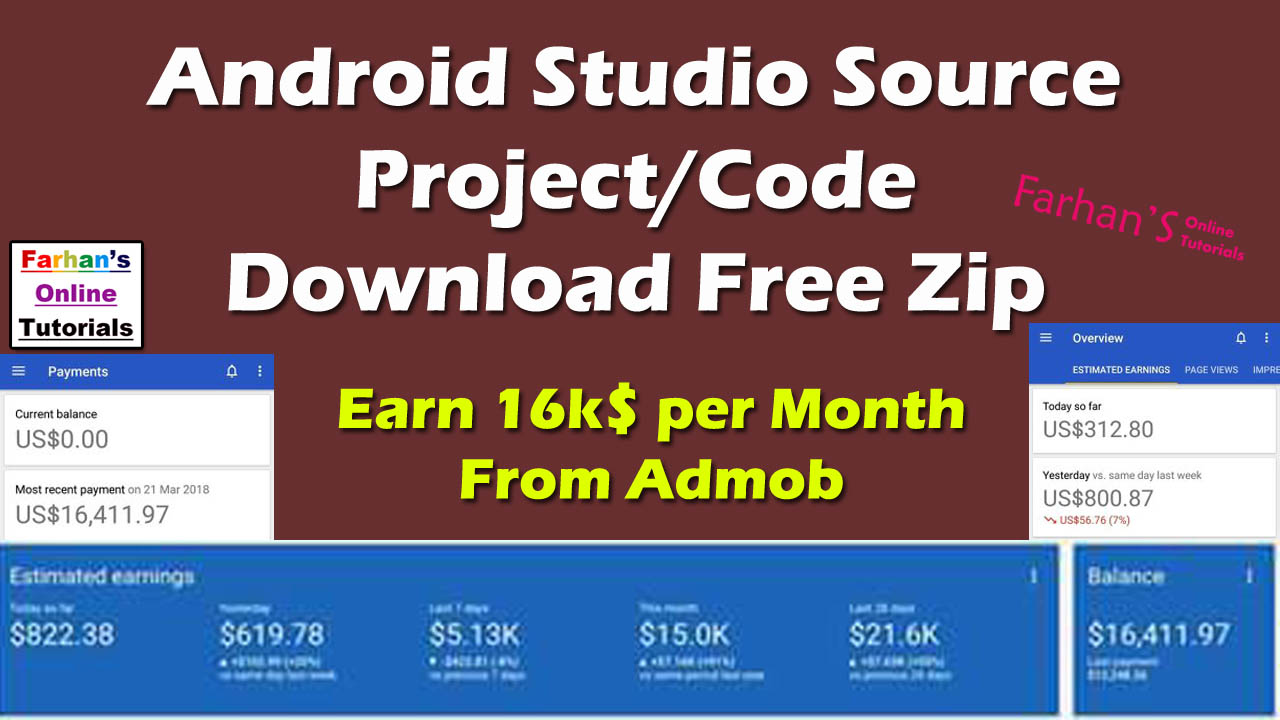Top Five Free Android Application Source Code Download - Circus